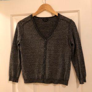 Theory wool-blend charcoal sweater - super soft ☺️